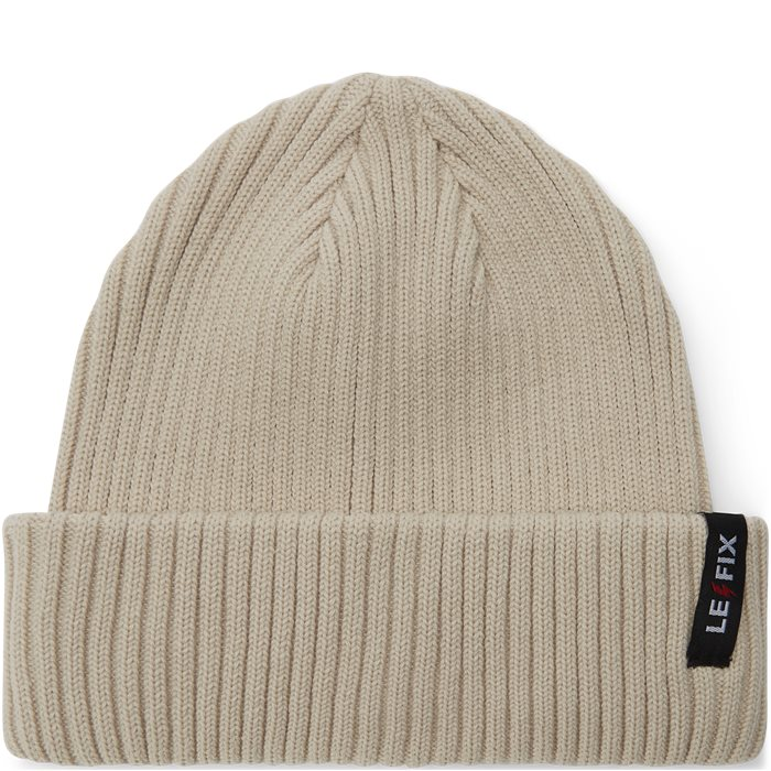 Cotton Sailor Beanie - Mössor - Vit